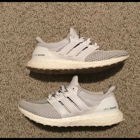 new concept 3b4dd 0dd48 Adidas Ultra Boost 2.0 ALL WHITE (Reflective)
